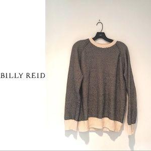 Billy Reid Mens Knit Sweater